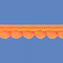 <strong>D34/ 7</strong> - Galon Mini Pompon/ Naranja
