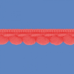 <strong>D34/ 39</strong> - Galon Mini Pompon/ Coral
