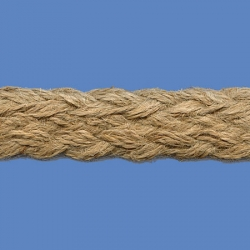 <strong>729/ 88</strong> - Trenza Yute - Ancho 2cm