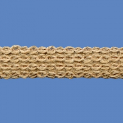 <strong>71/ 88</strong> - Narrow Lace Jute Zig Zag