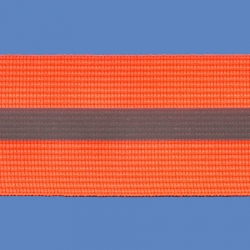 <strong>RE 4/ 7</strong> - Cinta reflectiva fluo/ Naranja