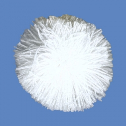 <strong>H68/1</strong> - Acrylic Pompon/ White