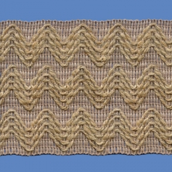 <strong>H734/88</strong> - Zig zag/ Jute