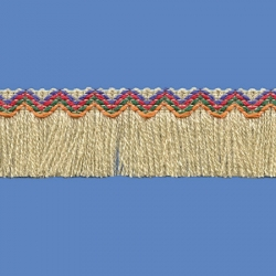 <strong>N33/10</strong> - Inca Fringes acrylic/ Beige