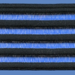 <strong>T21M /2</strong> - Elastic ribbon/ Black