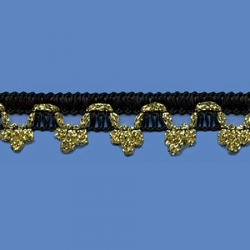 <strong>M43/ 2/ 81</strong> - Black with Gold Lame Coronofito