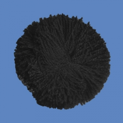 <strong>H68/2</strong> - Acrylic Pompon/ Black