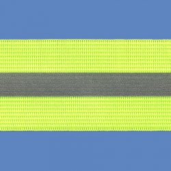 <strong>RE 4/ 14</strong> - Cinta reflectiva fluo/ Amarilla