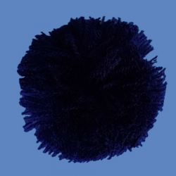 <strong>H68/5</strong> - Acrylic Pompon/ Blue navy