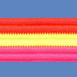 <strong>T24F/ 7/14/13</strong> - Arcobaleno fino fluo/ naranja-fucsia-verde fluo
